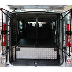 Mercedes Vito Van Conversion Dog Cages And Storage