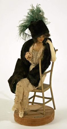 Lafitte Desirat Wax Fashion Doll - 1912