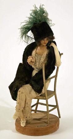 Lafitte Desirat Wax Fashion Doll - 1912