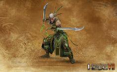 Лесной союз Танцующий с клинками | Might & Magic® Heroes 7