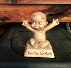 antique, memories, I Love You This Much figurine Photo -m.murphree Google Photos