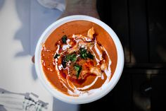 THAI SPICY TOM-YUM-GOONG TOMATO GAZPACHO | Lady and Pups – an angry food blog