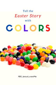 Because preschoolers love colors, little ones are drawn to stories that involve this learning. Use the ideas and activities provided on the #ABCJesusLovesMe website to explain the Easter story in a personal way. #Easteractivities #EasterandJesus #PreschoolEaster #EasterColors Easter Story, Easter Colors, Preschool Curriculum, Easter Activities, Jesus Loves Me, Little Ones, Babies, Website, Learning