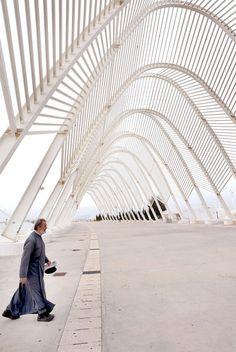 Obra de Santiago Calatrava en Grecia.