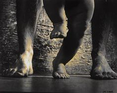 Jan Saudek; What goes on four legs in the morning, on two legs at noon, and on three legs in the evening?