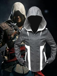 Assassins Creed Hoodie Cosplay Costume