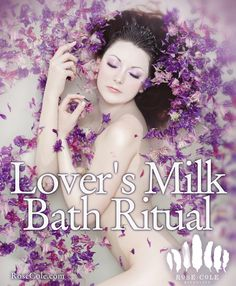 Bath rituals have been used for thousands of years to soften and nourish the skin, and to ignite love and passion. The lactose in milk helps to gently exfoliate without over-drying, and make your skin SUPER soft.So light some candles, and pamper your lover (and yourself) in this luxurious bath!