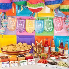 Cinco de Mayo Favorites: Nacho Bar #PreppyPlanner