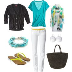 Bright and Casual, created by bluehydrangea on Polyvore