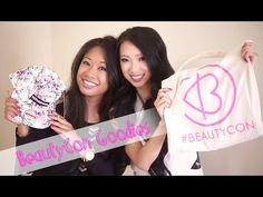 BeautyCon Goodies - Unbagging with TheStyleSegment Part 1 http://youtu.be/POsQyXuJERk