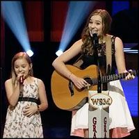 2 Singing Sensation Sisters Perform on the Opry Stage - Music Video