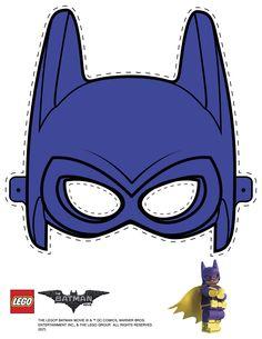 Mask cutout - Batgirl