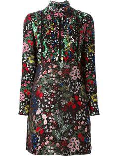 Valentino Floral Embroidered Dress - L'espionne - Farfetch.com