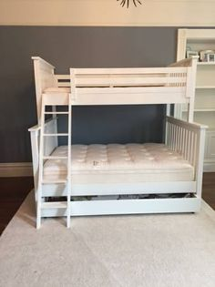 Land of Nod Bunk Bed (Twin over Full)
