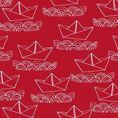 ahoymateysailboatsonredbywindhamfabrics401543