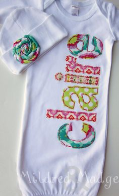 This is my favorite item to make and give to friends. Seeing your newborns name is always exciting, especially in fun and bold colors! Its always