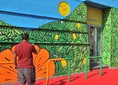 Melito Poste Italiane colora borghi e città