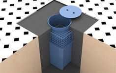 Serie CFC - Caja fuerte de suelo - Cajas fuertes camufladas - Producte | Cajas fuertes Ollé
