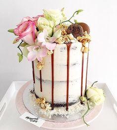 Tall 7 inch chocolate cake! 💕