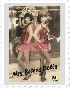 1920s Cigarette Girl | Cigarette Girls by Mrs. Bella's Dolls | Flickr - Photo Sharing!