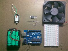 Picture of Use Arduino with TIP120 transistor to control motors and high power devices