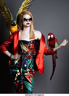 """Wild Eyes"" | Model: Jane Randall, Photographer: Douglas Friedman, Vogue Italia, March 2012"