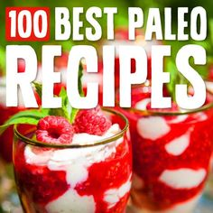 100 Best Paleo Diet Recipes- the best list of Paleo recipes out there. Organized by meal and category. Some of these actually sound good.