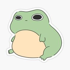 Cute Animal Drawings Kawaii, Cute Little Drawings, Totoro, Animated Frog, Frog Drawing, Frog Art, Dibujos Cute, Cute Frogs, Cool Stickers