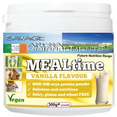 Meal Time Chocolate/Vanilla Protein meal replacement 300g