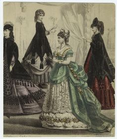 1860's fashion:  does this dress make my butt look big?