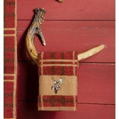 antler decorations | Faux Antler Towel Hook