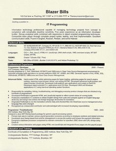 Computer Programming Resume Extraordinary Resume Template Modern Gray  Work Wear  Pinterest  Template