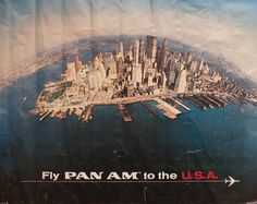 Fly Pan Am to the USA - New York City -