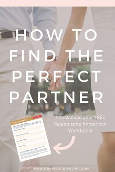 Maybe you've heard of these mythical creatures... The Perfect Partner. BUT it can be reality. I'm busting relationship myths + offering a FREE workbook to help you find YOUR Perfect Dream Partner. Grab it here.