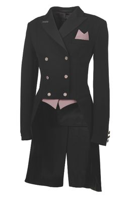 Pikeur Ladies Dressage Jersey Tails / Shadbelly - Pikeur