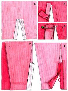Существует множество способов выполнения разреза или шлицы на рукаве. Если он очень узкий, нужен такой разрез, чтобы могла пройти рука. Однако, разрез и шлица могут быть украшением или элементом стиля — например, у рукава классического пиджака. Рукав с широкой манжетой всегда имеет разрез. Но прежде чем выполнять разрез или шлицу, необходимо проверить длину рукава. Чисто [...]