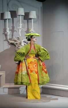 John Galliano for Chrisitan Dior Spring Summer 2007 Haute Couture