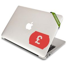 British Currency Decal