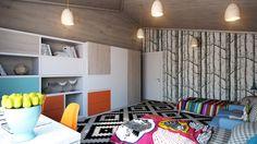 homedesigning:  Crisp and Colorful Kids Room Designs