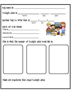 Calendar Task Cards from TpT