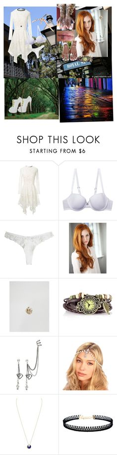 """""""A.J. celebrating the Casket Girl Festival and introduces the schools to New Orleans"""" by andyarana ❤ liked on Polyvore featuring Lover, Christian Louboutin, Chantelle, Fleur du Mal, Kingsley Ryan, Kristin Perry, Cartier and LULUS"""
