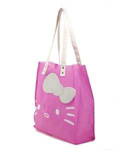Hello Kitty Pink Frosted Dimensional Shopping Bag - Hello Kitty Shopping Bag - Hello Kitty Stores :: BeardBrother Hello Kitty Bag, Hello Kitty Items, Best Memories, Sanrio, Cute Cartoon, Cosmetic Bag, Fashion Bags, Shopping Bag, Diaper Bag