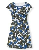 Blue Vintage Floral Easy Day Dress