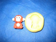 Monkey Push Mold Flexible Resin Clay Candy Food Safe Silicone  #1 Chocolate Wax #LobsterTailMolds
