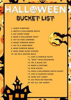 20 Ideas For Your Halloween Bucket List 2016 - livingmividaloca.com