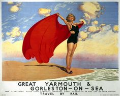 European Travel Ads (Vintage Art) Posters, Prints, Paintings & Wall Art for Sale British Travel, British Seaside, European Travel, British Isles, Posters Uk, Railway Posters, Poster Prints, Train Posters, Art Prints