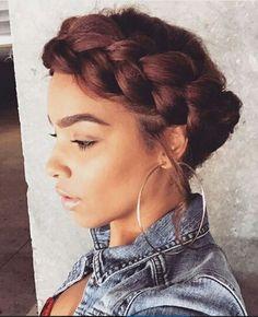 Marvelous Halo Braid Natural Hair Style Braids Pinterest Halo Love Short Hairstyles For Black Women Fulllsitofus