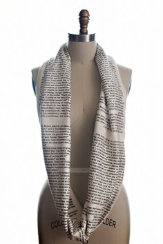 Sherlock Holmes Circle Scarf | 37 Ways To Proudly Wear Your Love Of Books