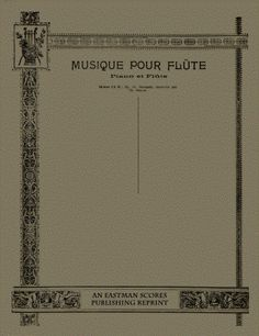 Widor, Charles Marie : Serenade. Op. 10. Transcrite [pour piano et violon (ou…