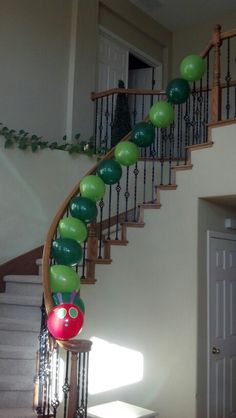 Hungry caterpillar decor